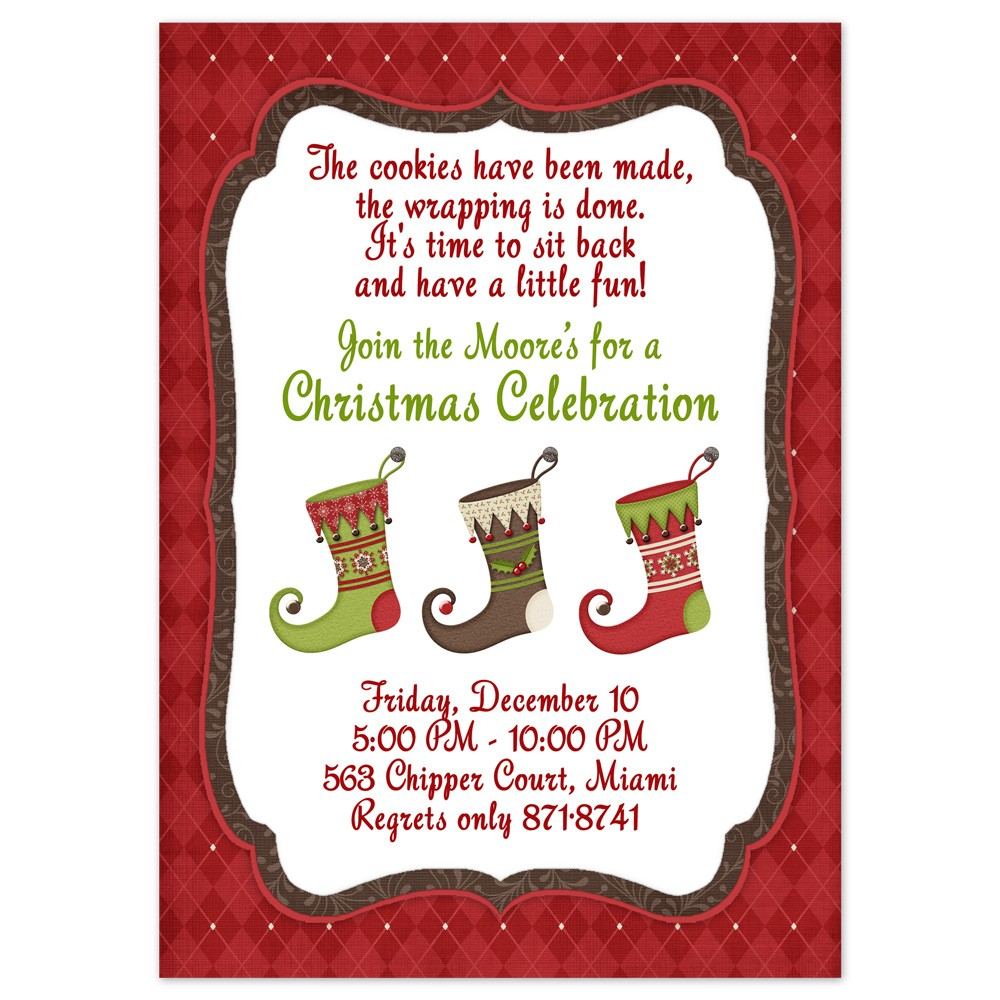 Info on the Free Christmas Cookie Exchange Printables