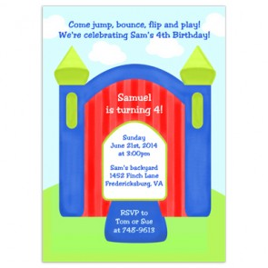 bounce-house-party-invitations