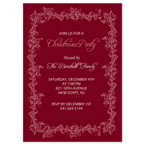 holiday-party-invitation-floral