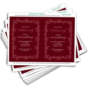 printable-holiday-party-invitation-floral