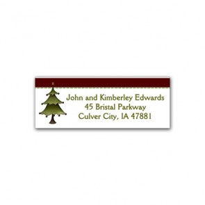 country-christmas-address-labels