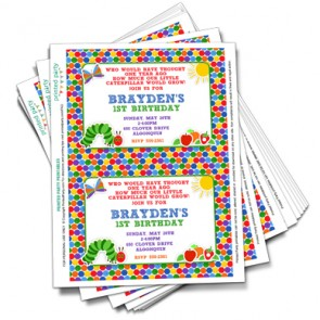 Diy girl invitations printable invitations birthday printable the very hungry caterpillar invitation template filmwisefo