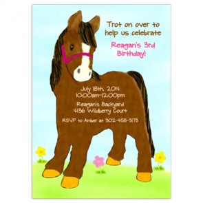 horse-birthday-invitation