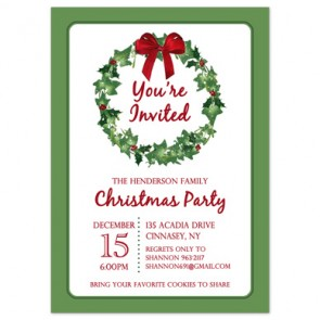 holiday-party-invitation-wreath