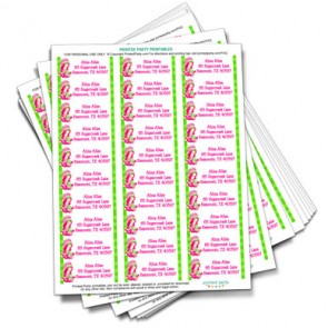 printable-strawberry-shortcake-address-labels