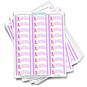 printable-gymnastics-address-labels