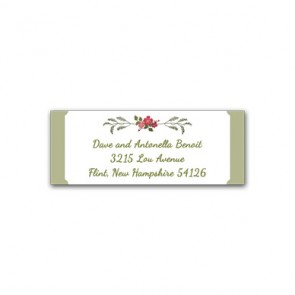wreath address labels, Christmas party address labels, christmas party invites, cheap holiday party address labels, cheap christmas party address labels