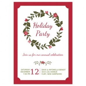 christmas-party-invitation-wreath